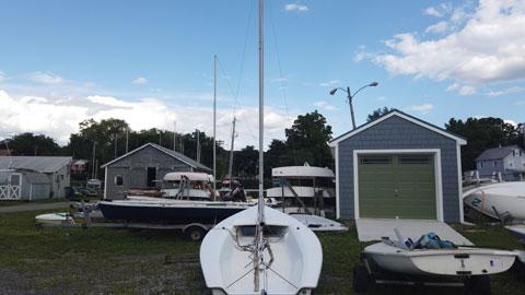 Hunter JY15, 1997 sailboat