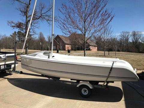 Marlow Hunter 18, 2011 sailboat