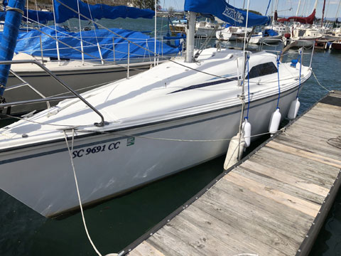 Hunter 26.5, 1989 sailboat