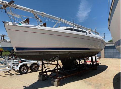 Hunter 280, 1998 sailboat