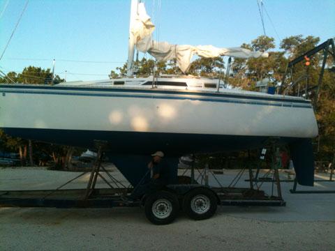 Hunter 28.5, 1985 sailboat