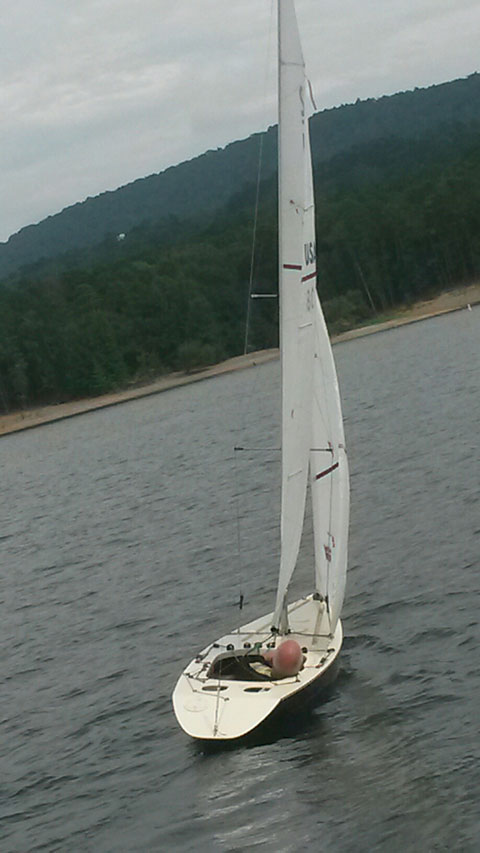Illusion Mini 12 sailboat