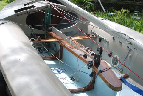 505 class sailboat, 1980 sailboat