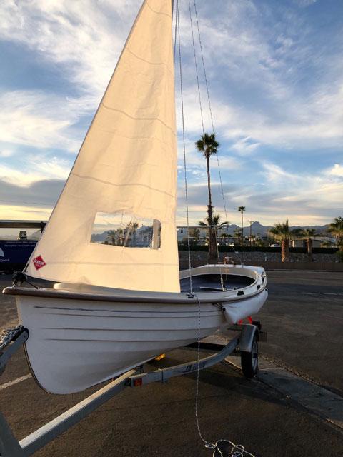 Jersey Skiff, 17', 2019 sailboat