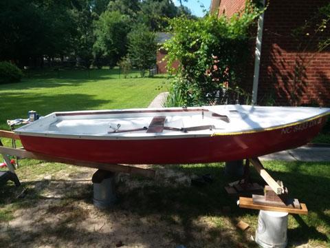 La Prairie Zef, 1970s sailboat