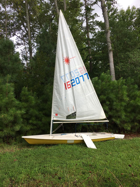 Laser 1974 sailboat