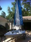 2011 Laser Pico sailboat