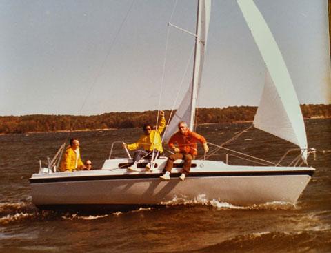 MacGregor 26 D, 1988 sailboat