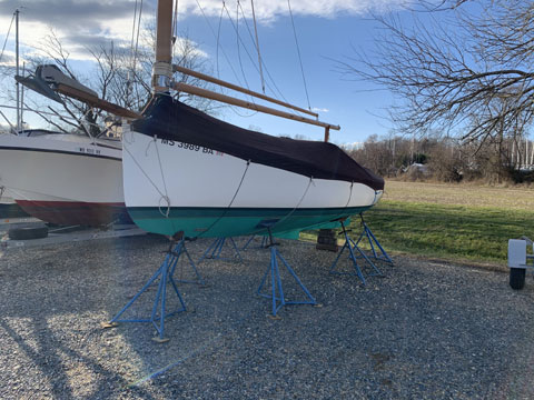Marshall 22, 1988 sailboat
