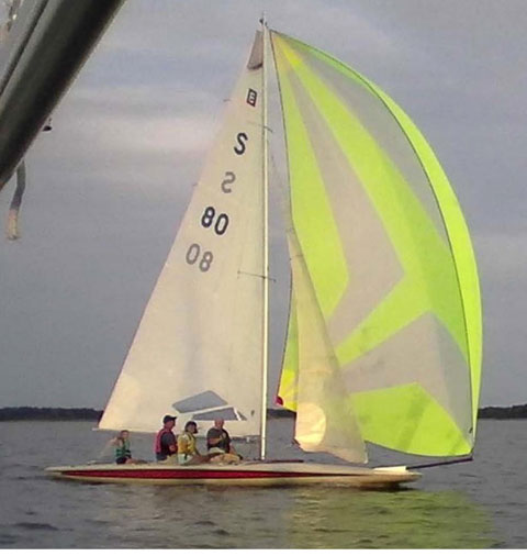 Johnson E-Scow 28', 1996 sailboat