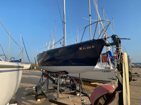 Merit 25, 1984 sailboat
