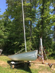1973 Montgomery 12 sailboat