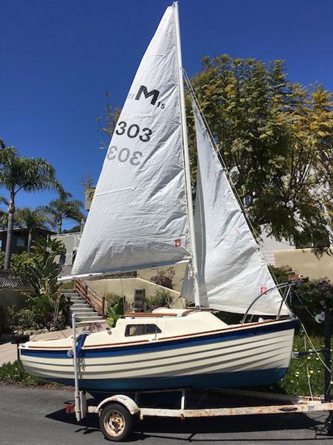 Montgomery 15, 1985 sailboat