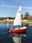 2017 Montgomery 15 sailboat