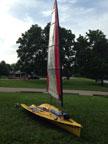 2001 MX Ray sailboat