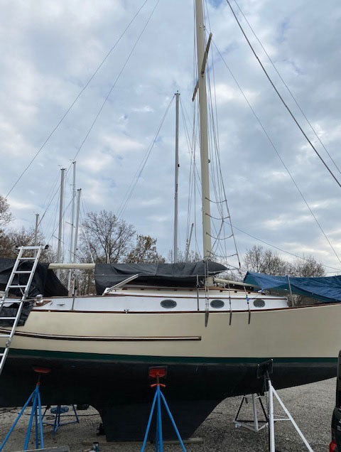 Mystic 30, 1980, Carlyle, Illinois sailboat