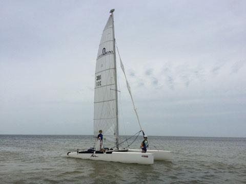 Nacra 6.0 Racing Catamaran, 1994 sailboat