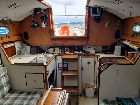 Nimble 30 yawl, 1987 sailboat
