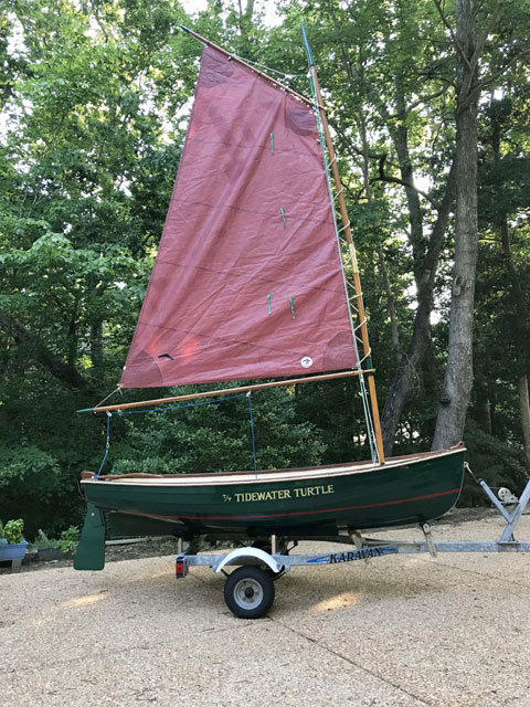 Nordic Sailing and Rowing Dinghy, 1987 sailboat