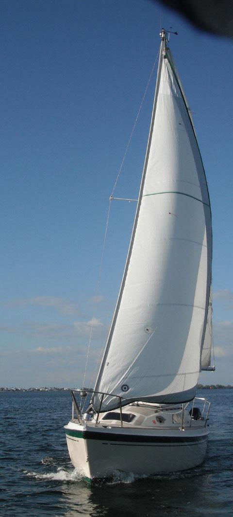 O'day 26 sailboat