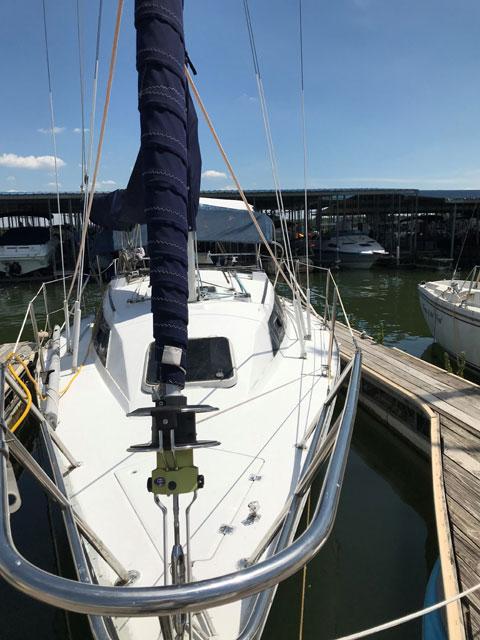 O'Day 302, 1988 sailboat
