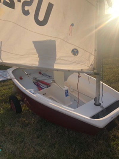 Optimist, 1992 sailboat