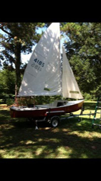 Paceship, 17 ft,. 1974 sailboat