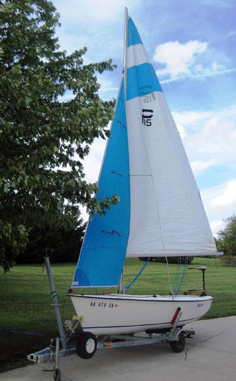 Precision 15, 2009 sailboat