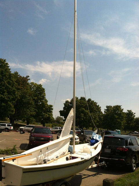 Precision 16, 1988 sailboat