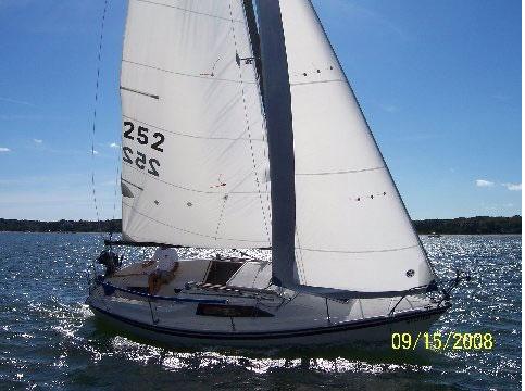 Precision 23, 1990 sailboat