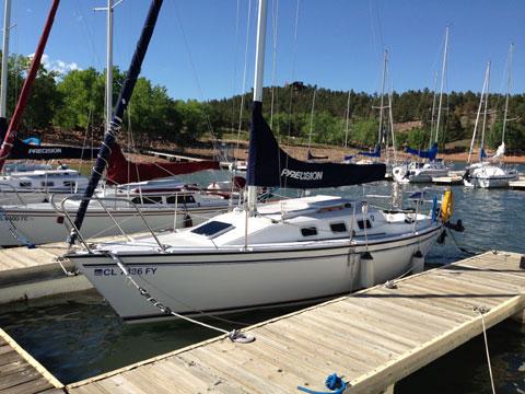 Precision 23, 2005 sailboat