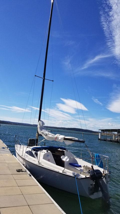 Precision 23, 1986 sailboat