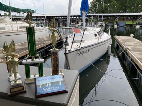 S2 7.9 Grand Slam sailboat