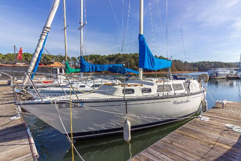 S2 9.2 Grand Slam 1985, 30ft sailboat