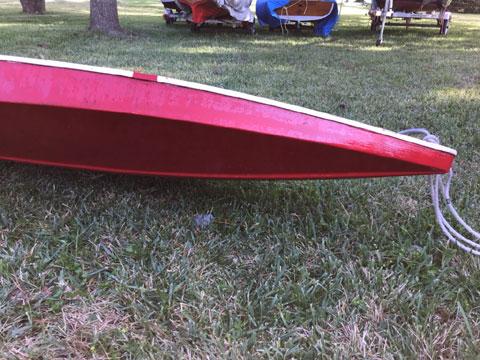 Sailfish hull sailboat