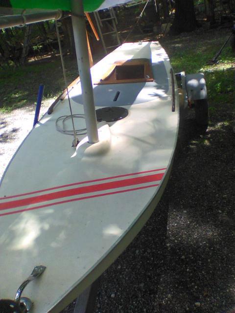Sailfish, 13 ft. sailboat