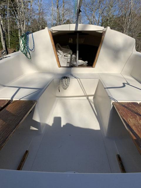 Sanibel 17, 1986 sailboat