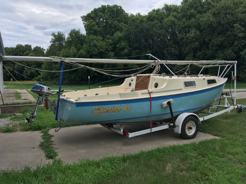 San Juan 21 MKII, 1976 sailboat