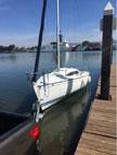 1995 Santana 2023C sailboat