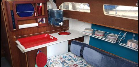 Santana 2023C, 1996 sailboat