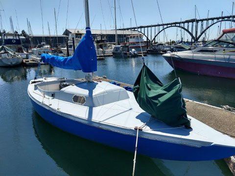 Schock 25, 1962 sailboat