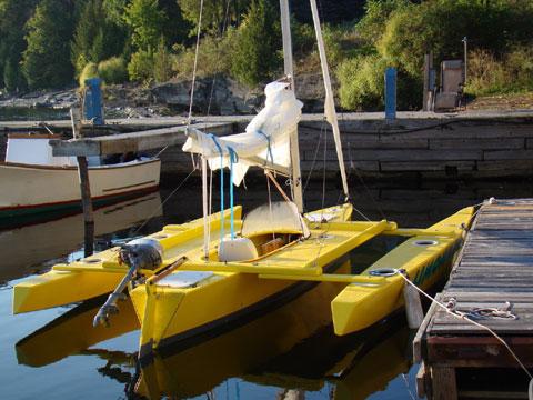 Seaclipper 16 Trimaran, 2015 sailboat