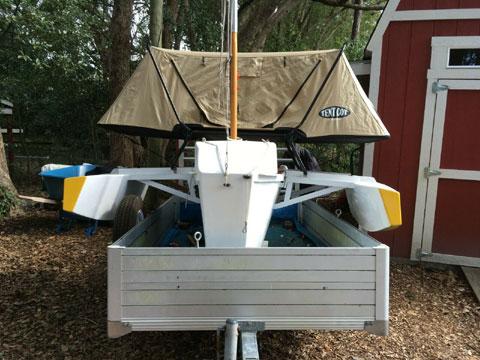 Custom Seahopper trimaran, 2018 sailboat