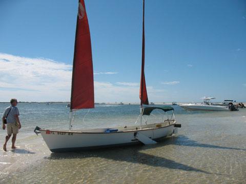 Sea Pearl 21, 1986 sailboat