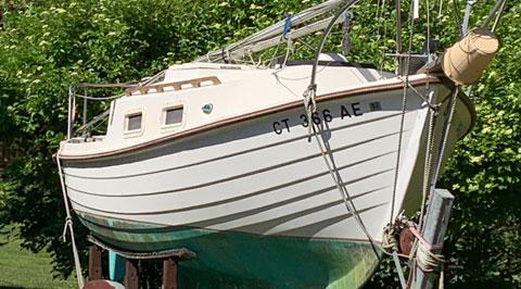 Skipper 20 sailboat