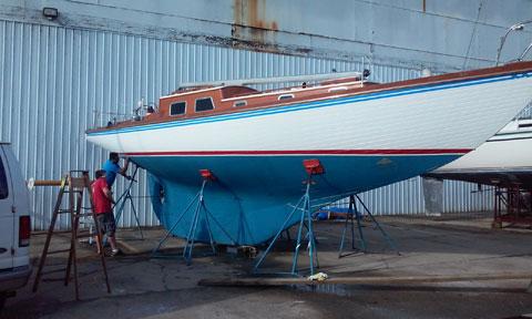 Sparkman Stephens 40, 1966 sailboat