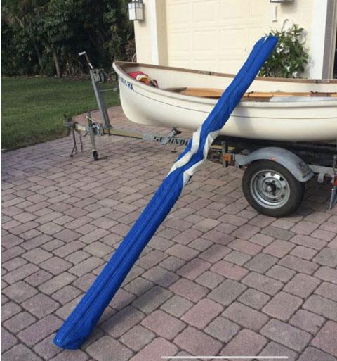 Trinka sailing dinghy, 10ft sailboat