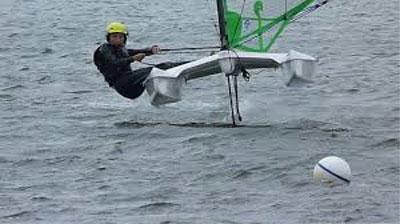 UFO, high-performance foil boat sailboat