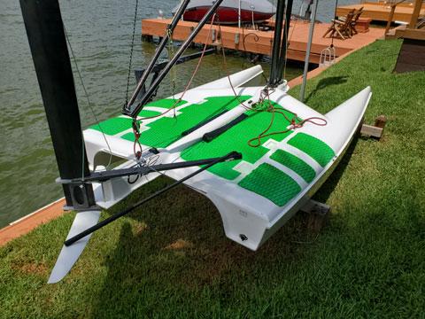 UFO, Fulcrum Speedworks, 2018 sailboat
