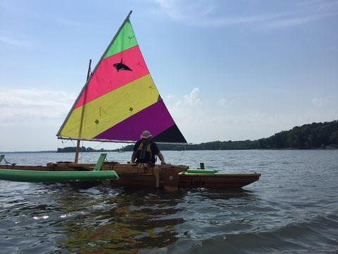 Gary Dierking designed Ulua trimaran, 2018 sailboat